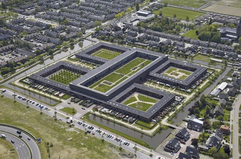 Visualisierung De Grote Hof von  Rapp+Rapp Architekten