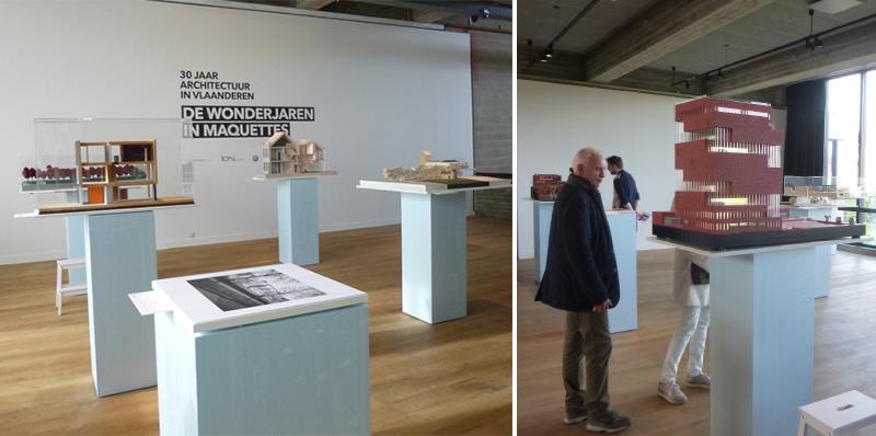"""Bild der Ausstellung """"Wonderjaren. 30 jaar architectuur in Vlaanderen"""""""