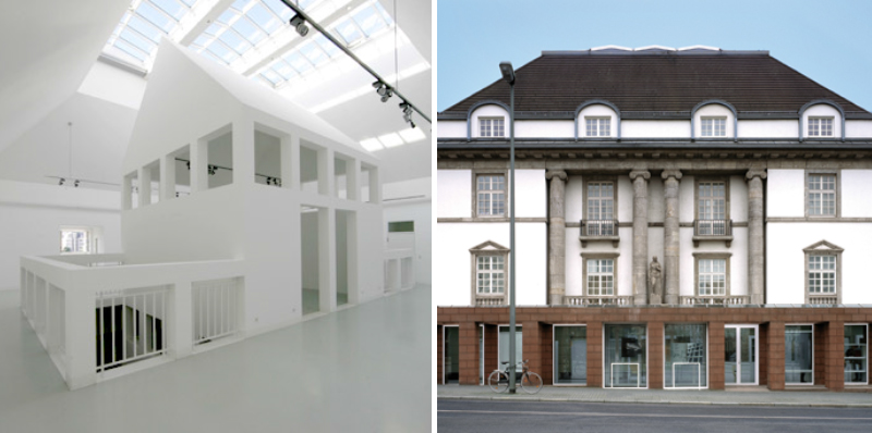 "Innenraum und Ansicht Architecture Museum Foundation: ""Competition for an architectural museum"""