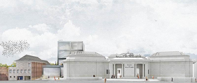 Musée des Beaux-Arts Ansicht