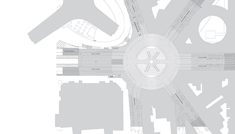 Square Schuman Lageplan