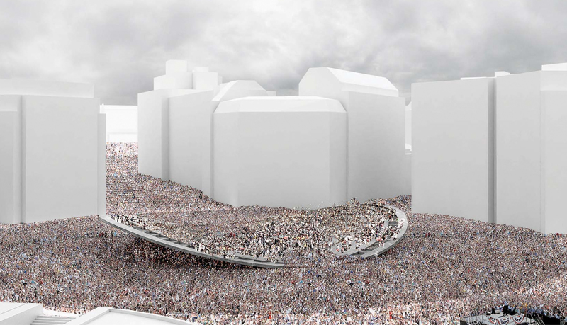 Square Schuman Visualisierung