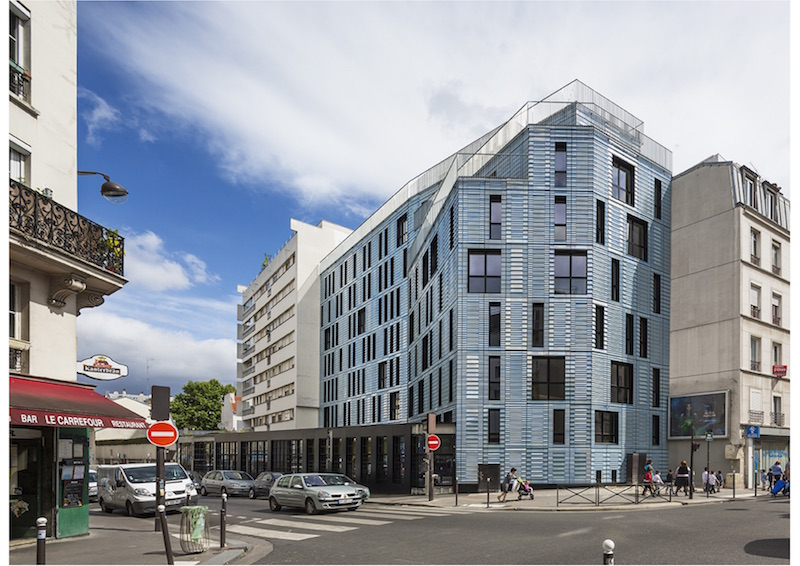 Coallia Wohnungen | Straßenansicht © Périphériques Architectes