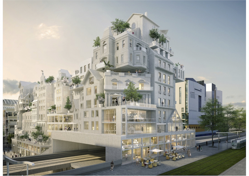 Paris for us - by us | Rendering © Périphériques Architectes