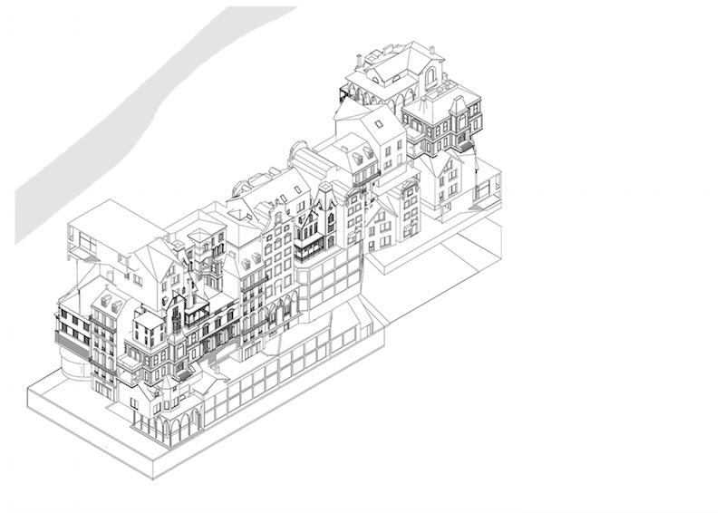 Paris for us - by us | Isometrie © Périphériques Architectes