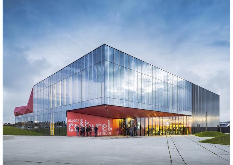 Kulturzentrum, Beaumont-Hague | Außenansicht © Périphériques Architectes
