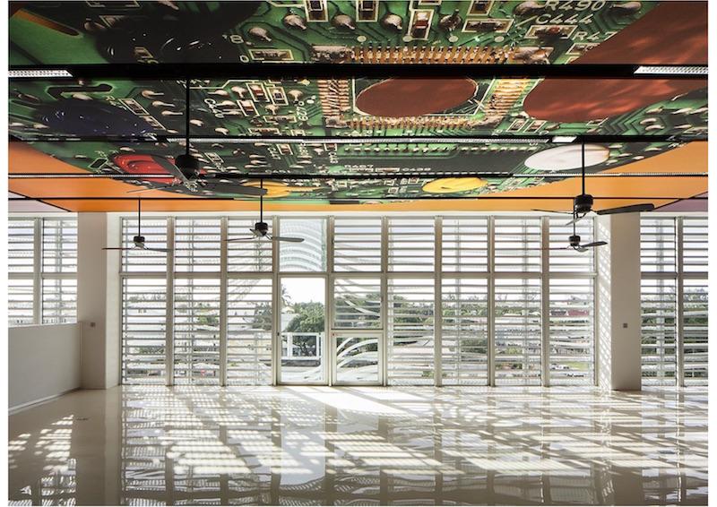 Médiathèque de Saint-Paul | Innenraum © Périphériques Architectes
