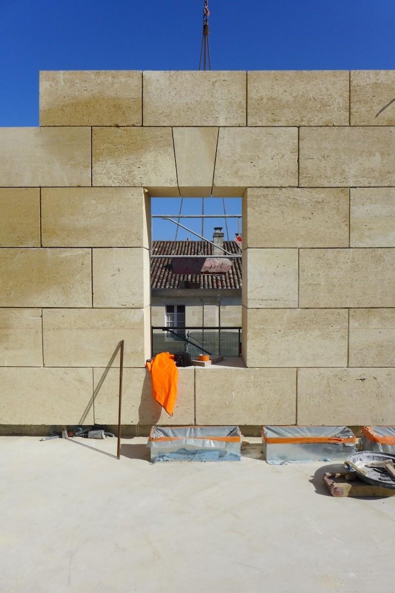 Alcazar Château Lafite – Konstruktion © David Leclerc Architecture