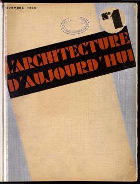 Die Architekturzeitschrift L'Architecture d'aujourd'hui