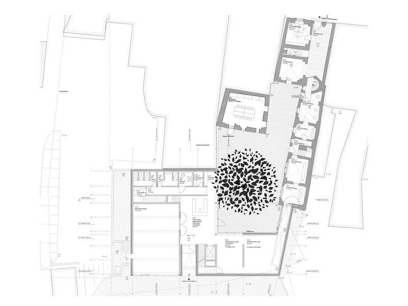 Museum Luthers Sterbehaus | Grundriss | © VON M