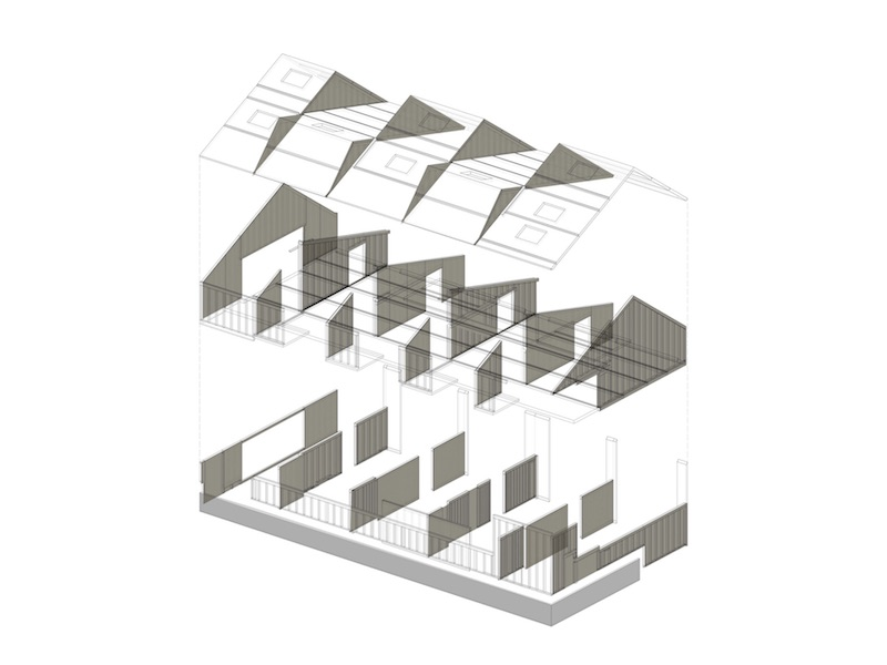 Kinder- und Familienzentrum   Isometrie Neubau   © VON M