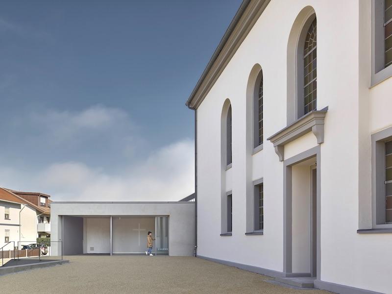 Christusgemeinde Kehl   neuer Eingangsbereich   © VON M