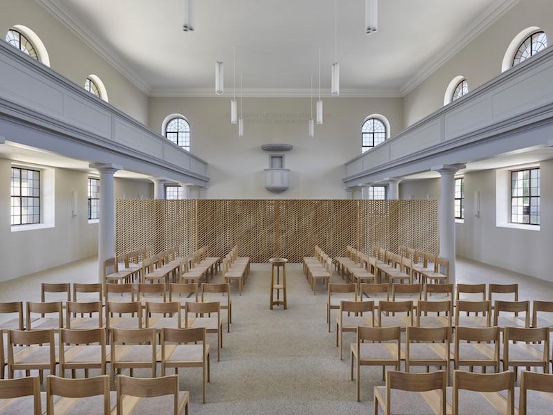Christusgemeinde Kehl | Innenraum | © VON M