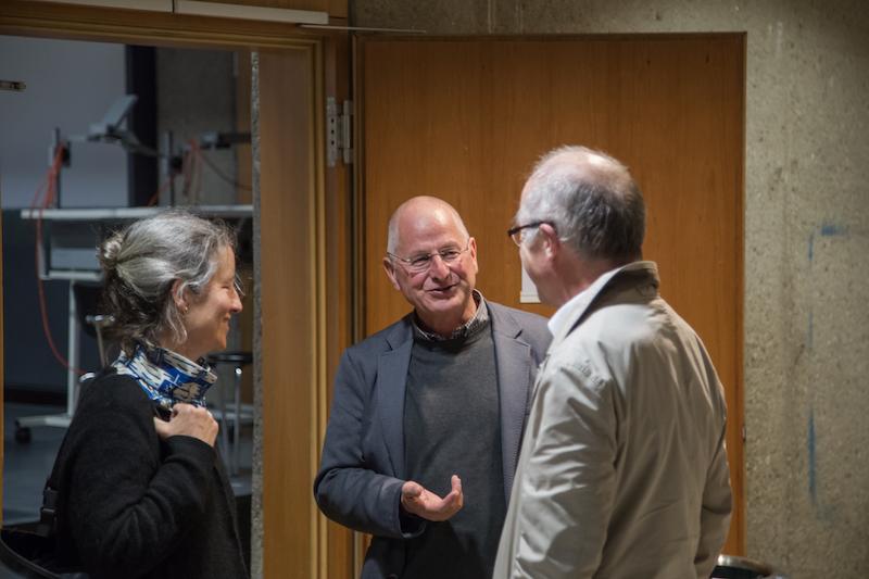 Hermann Holzknecht im Gespräch mit Prof. Paul Böhm