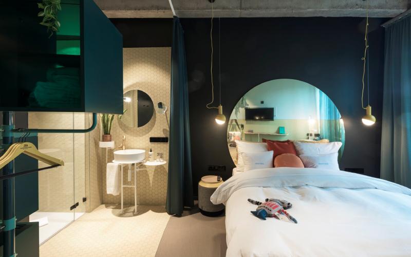 Hotelzimmer 25hours hotel | © Christian. Heuchel