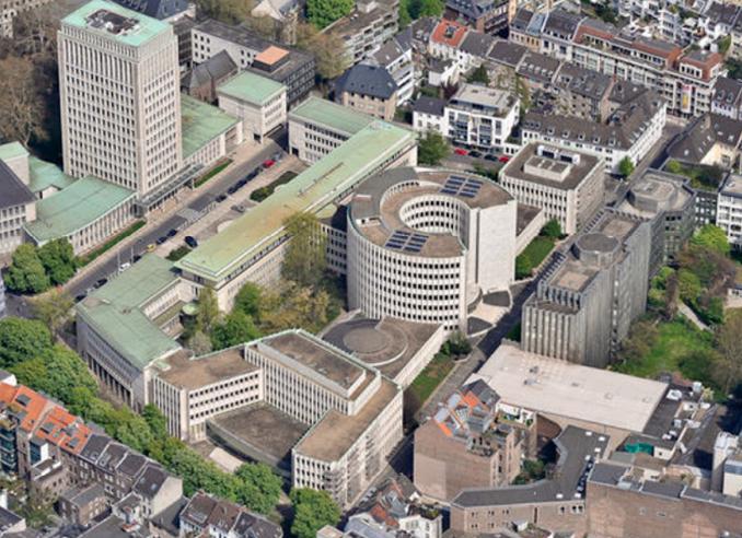 Luftaufnahme ,Gerling-Quartier', Köln | © Christian. Heuchel